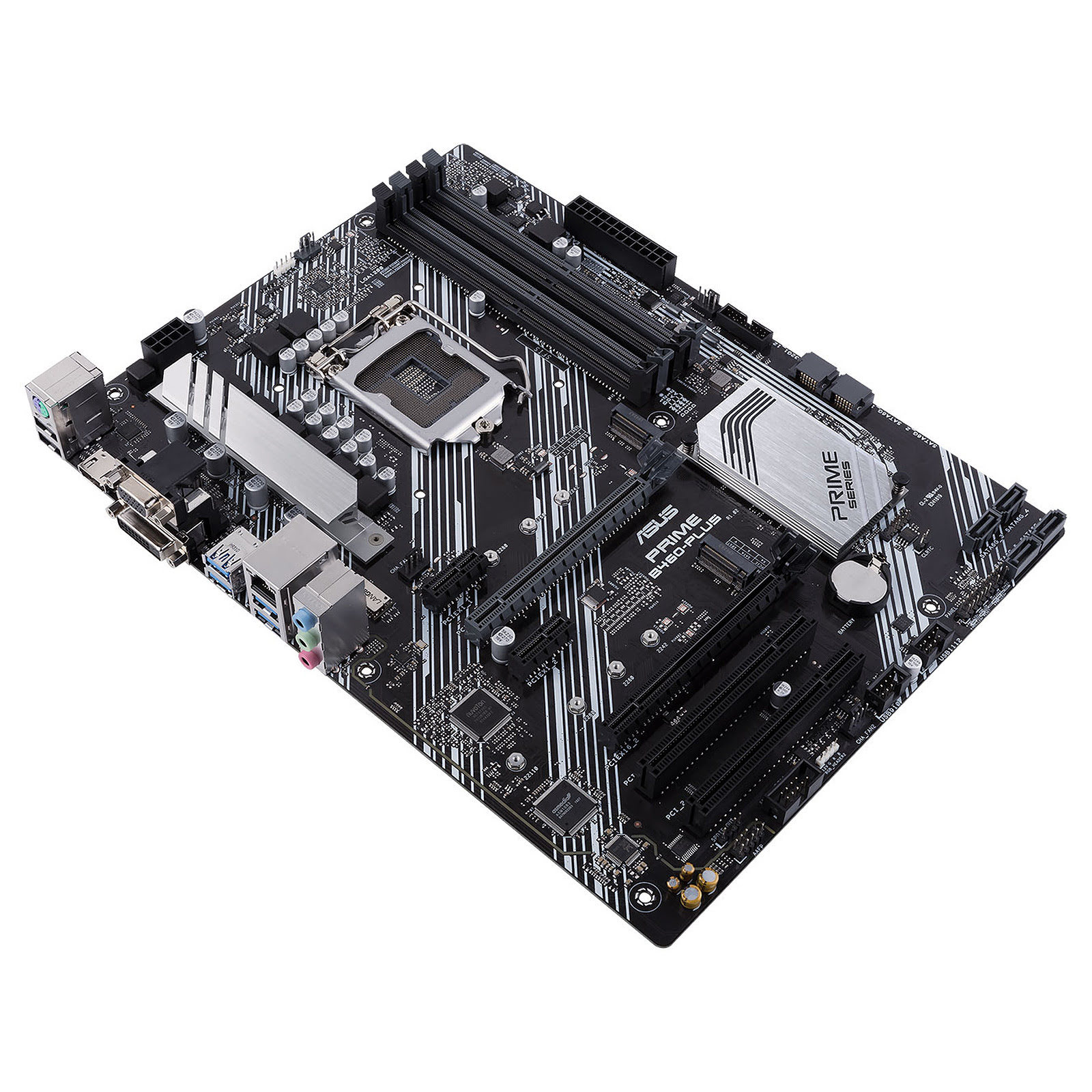 Asus PRIME B460-PLUS ATX DDR4 - Carte mère Asus - Cybertek.fr - 2