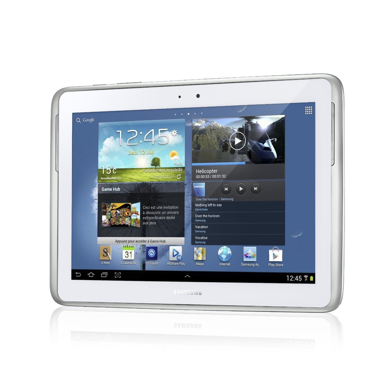 """Samsung Galaxy Note 10.1 N8000ZWA -Blanc/16Go/3G/10.1""""/ICS (GT-N8000ZWAXEF) - Achat / Vente Tablette tactile sur Cybertek.fr - 0"""