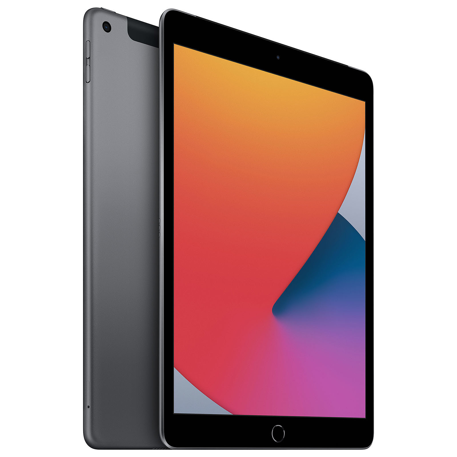 """Apple iPad 10.2"""" Wi-Fi+Cell. 128Go Gris Sid. - Tablette tactile - 1"""