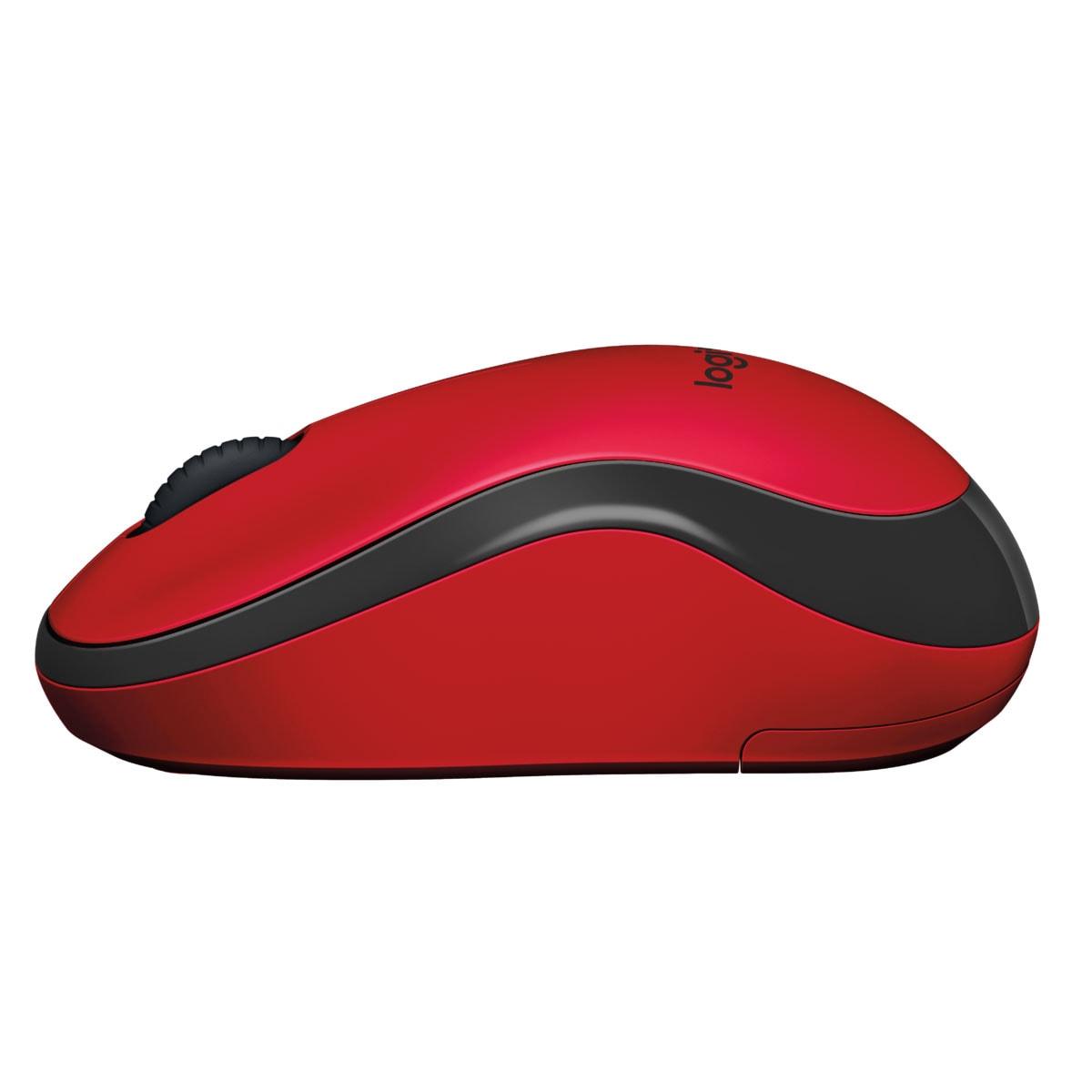 Logitech M220 Silent Red - Souris PC Logitech - Cybertek.fr - 1