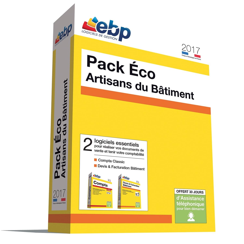 EBP Pack Eco Artisans du Bâtiment 2017 (1166J090FAF) - Achat / Vente Logiciel Application sur Cybertek.fr - 0