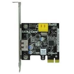 PCI-E 2xSATA III 600 - Carte contrôleur générique - Cybertek.fr - 0