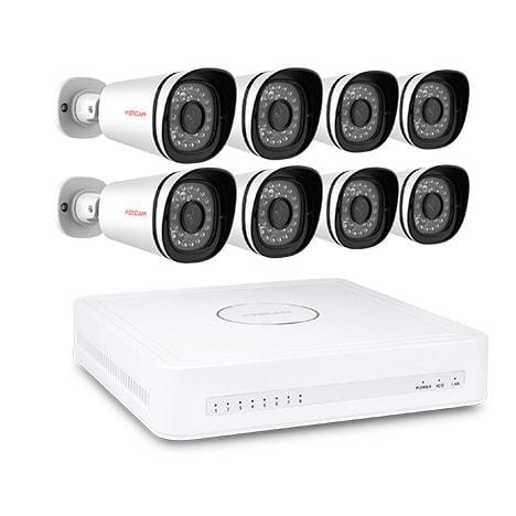 Foscam FN3108E-B8-2T Kit NVR 2To + 8 Cam. ext. FI9800XE (FN3108E-B8-2T) - Achat / Vente Caméra / Webcam sur Cybertek.fr - 0