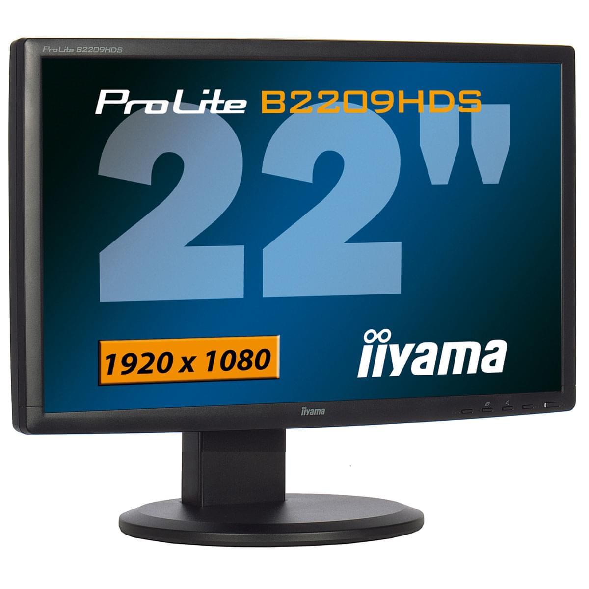 Iiyama PLB2209HDS-B1 (PLB2209HDS-B1 obso) - Achat / Vente Ecran PC sur Cybertek.fr - 0