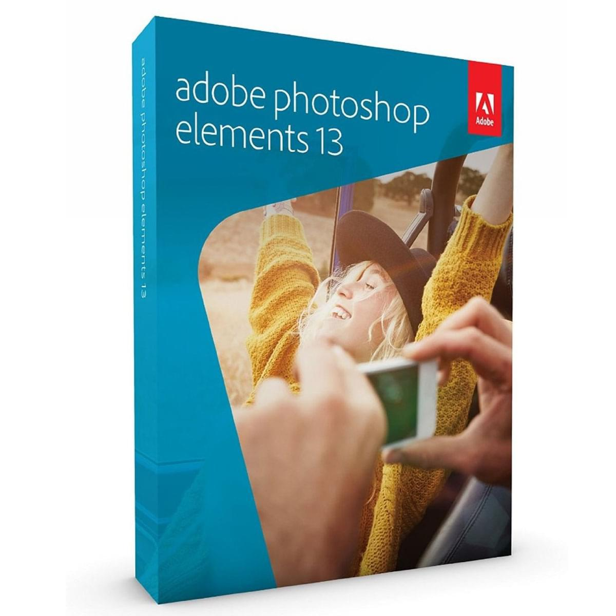 Adobe Photoshop Elements 13 (65234454) - Achat / Vente Logiciel Application sur Cybertek.fr - 0