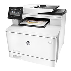 HP Imprimante Multifonction Color LaserJet Pro MFP M477fdn Cybertek