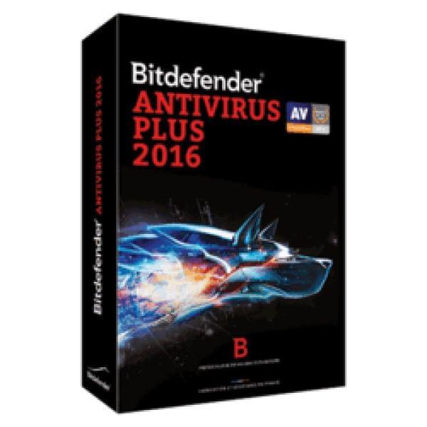Bitdefender Antivirus Plus 2016 (B-FBDAVP6X1P001) - Achat / Vente Logiciel sécurité sur Cybertek.fr - 0