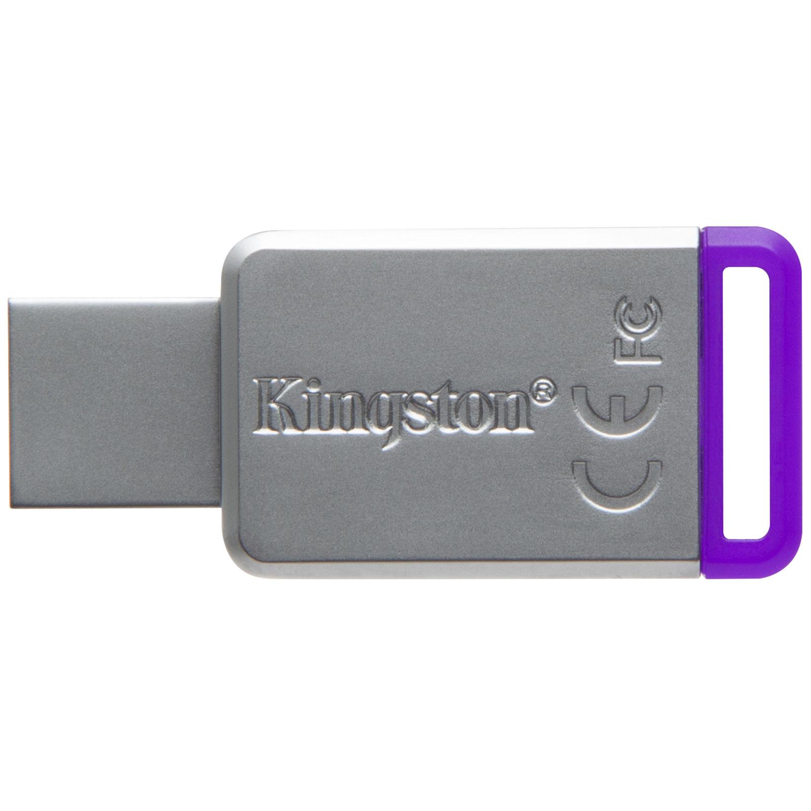 Kingston DataTraveler 50 8Go USB 3.1 (DT50/8GB) - Achat / Vente Clé USB sur Cybertek.fr - 2