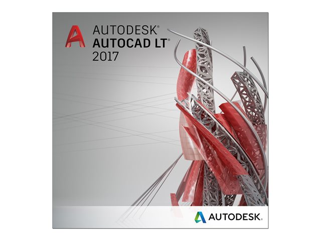 Autodesk AutoCAD LT 2017 commercial 1 user - 3 ans+Support - Logiciel application - 0