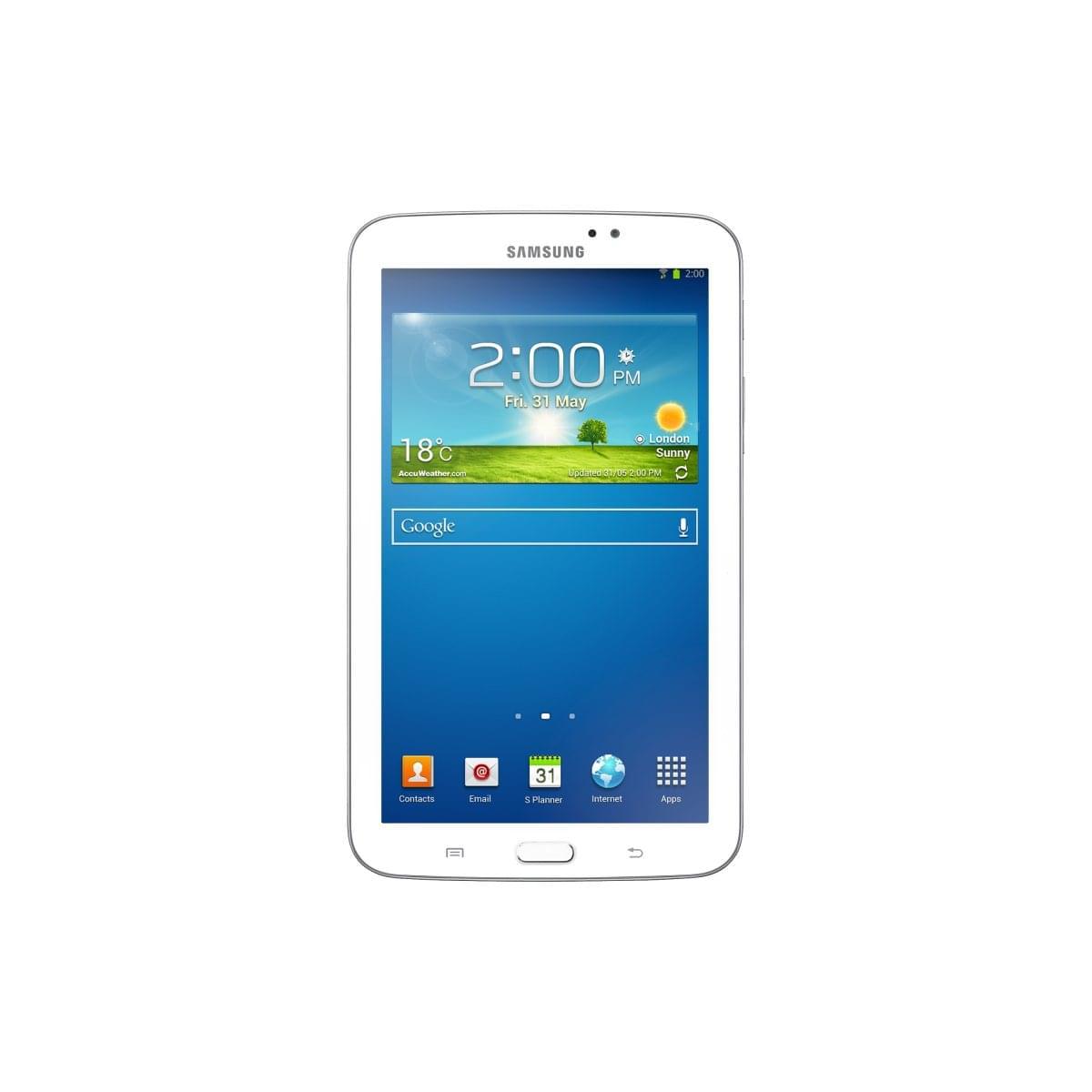 Samsung Galaxy Tab 3 T2100ZWA (SM-T2100ZWAXEF) - Achat / Vente Tablette Tactile sur Cybertek.fr - 0