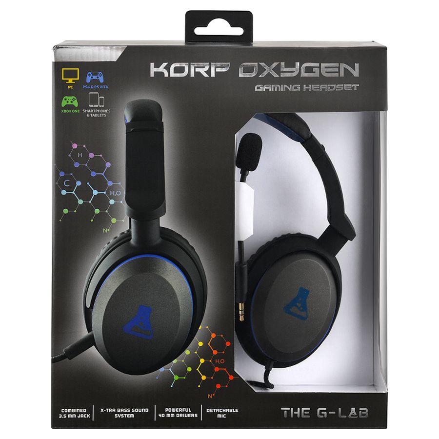 The G-LAB KORP OXYGEN Stereo Noir - Micro-casque - Cybertek.fr - 1