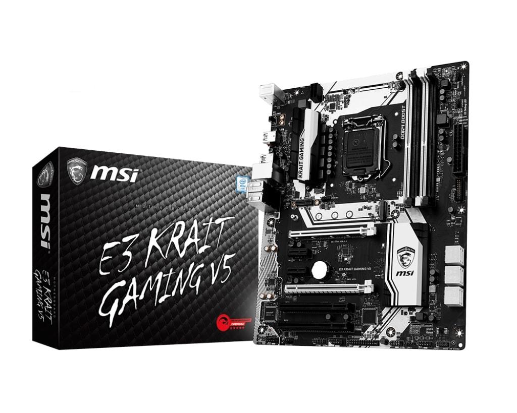 MSI E3 KRAIT GAMING V5 ATX DDR4 - Carte mère MSI - Cybertek.fr - 0