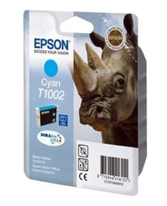 Epson Cartouche DURABRITE T1002 Cyan (C13T10024010) - Achat / Vente Consommable Imprimante sur Cybertek.fr - 0