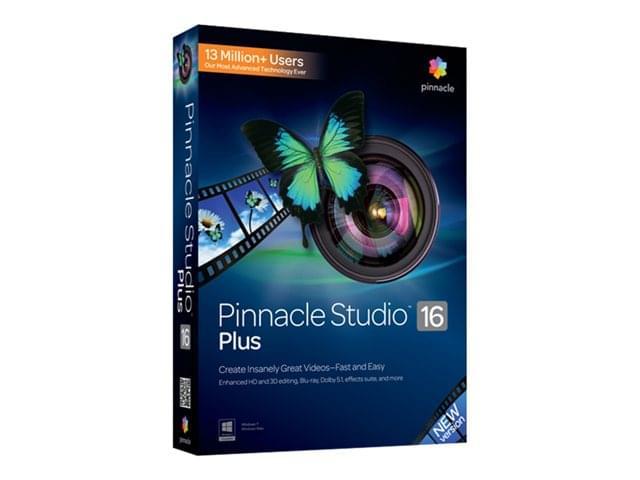 Pinnacle Studio 17 Plus (PNST17 PLMLEU) - Achat / Vente Logiciel Application sur Cybertek.fr - 0