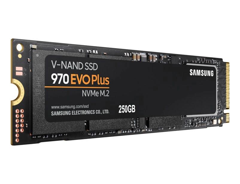 Samsung 970 EVO PLUS 240-275Go M.2 - Disque SSD Samsung - 1