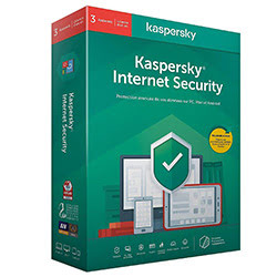 image produit Kaspersky Internet Security - 1 An / 3 PC Cybertek