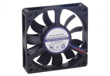 No Name Ventilateur 7 cm pour Boîtier - Ventilateur CPU No Name - 0