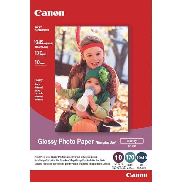 Papier photo brillant - 10x 15cm 100f. - GP-501 - Canon - 0