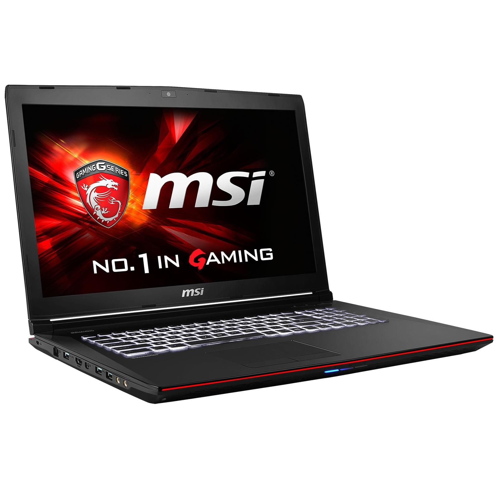 MSI GE72 2QC-232FR (GE72 2QC-232FR) - Achat / Vente PC portable sur Cybertek.fr - 0