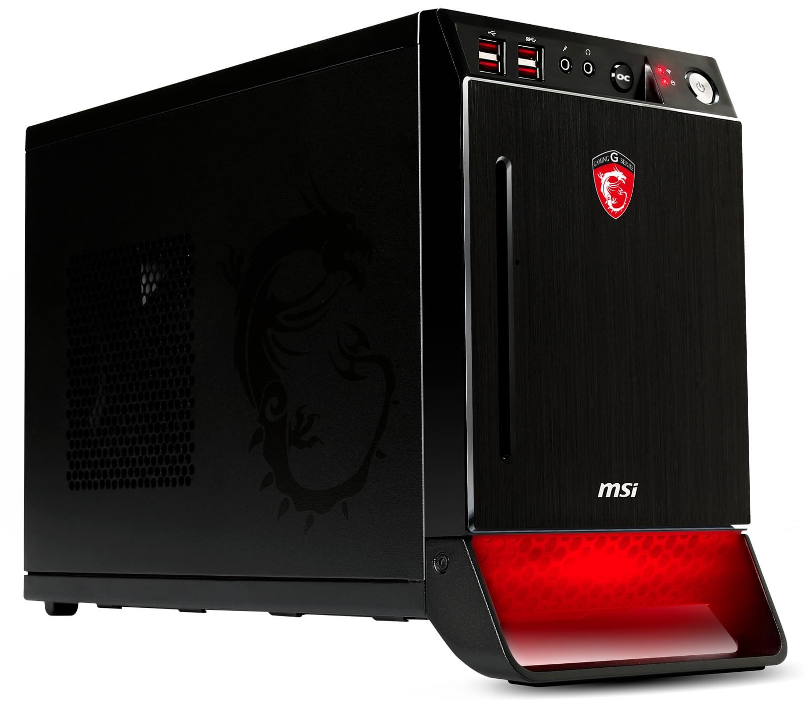 MSI NightBlade (B85C-017BFR-BSX) - Achat / Vente Barebone et Mini PC sur Cybertek.fr - 0