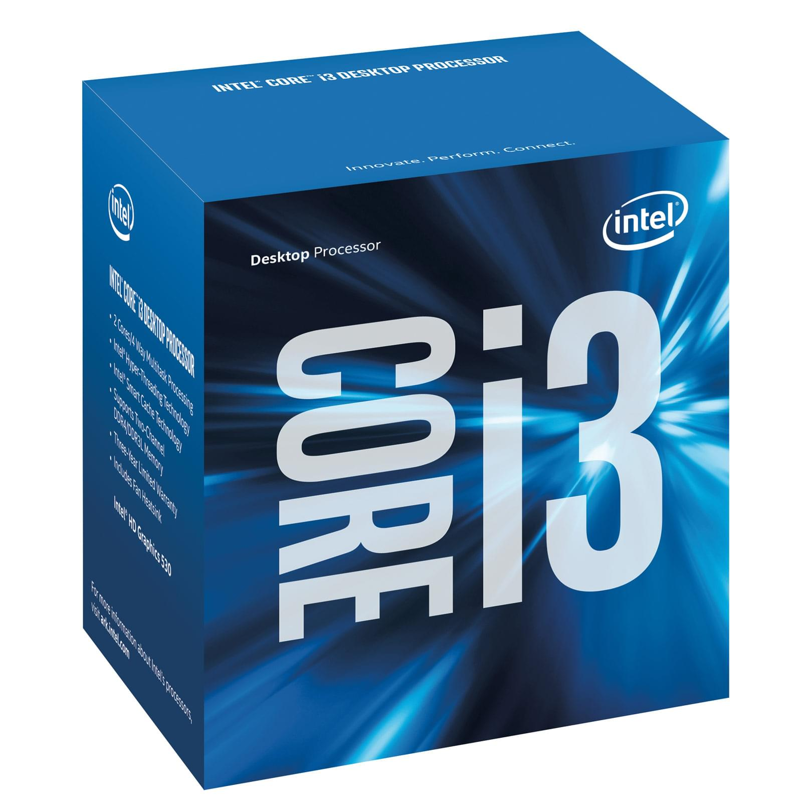 Processeur Intel Core i3 6100 - 3.7GHz -  - 0