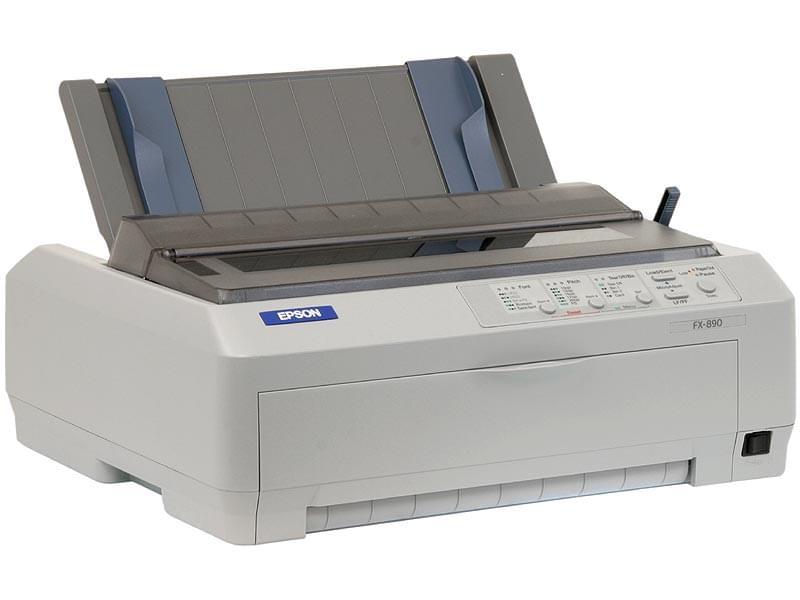 Epson Matricielle FX-890 (C11C524025) - Achat / Vente Imprimante sur Cybertek.fr - 0
