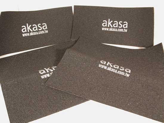 Akasa PAX-MATE-Mousse pour isolation phonique de boîtier (AK-PAX-1) - Achat / Vente Accessoire refroidissement PC sur Cybertek.fr - 0