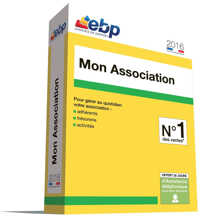 EBP Mon Association 2016 (1049J200FAA) - Achat / Vente Logiciel Application sur Cybertek.fr - 0