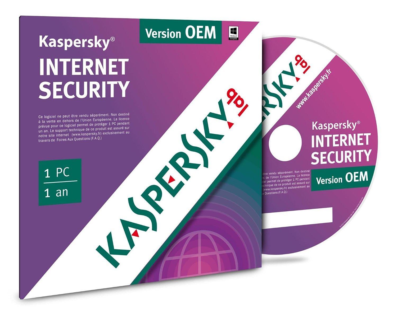 Kaspersky Internet Security 2016 OEM - 1 An / 1 PC (KL1867FBAFS-FFP 5060037893230) - Achat / Vente Logiciel sécurité sur Cybertek.fr - 1