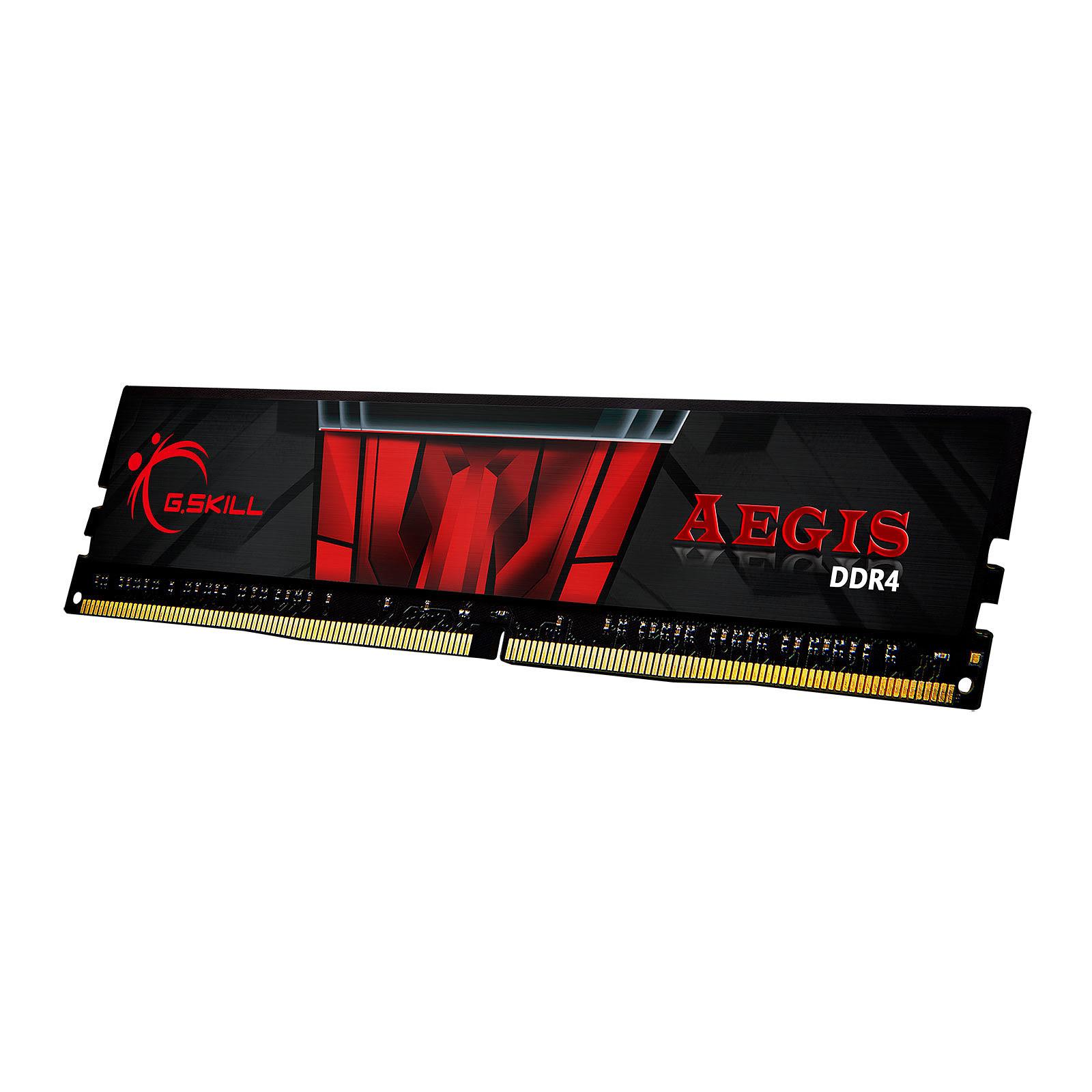 G.Skill Aegis  (8Go DDR4 3000 PC24000) - Mémoire PC G.Skill sur Cybertek.fr - 0