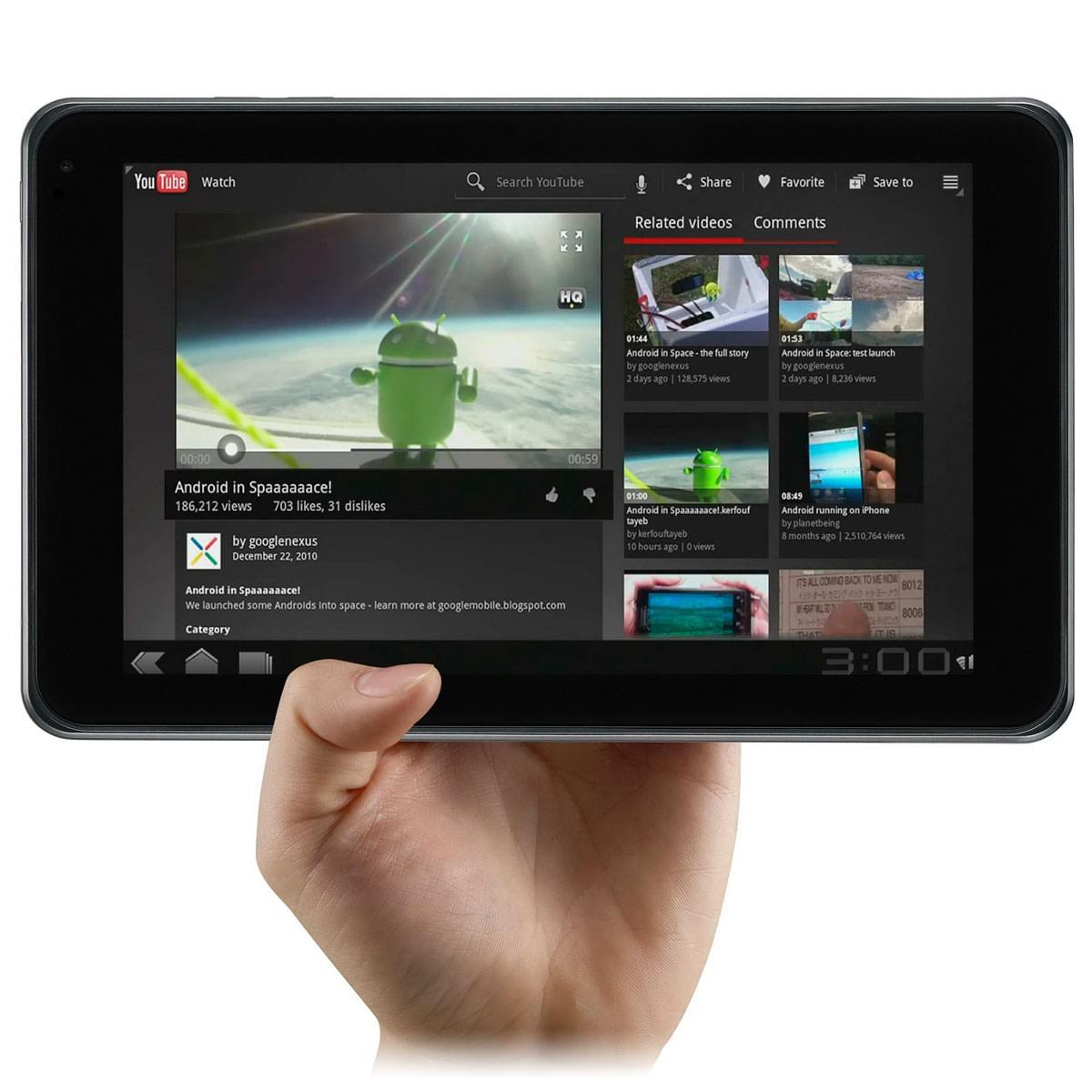LG V900 Optimus Pad (V900 soldé) - Achat / Vente Tablette Tactile sur Cybertek.fr - 0