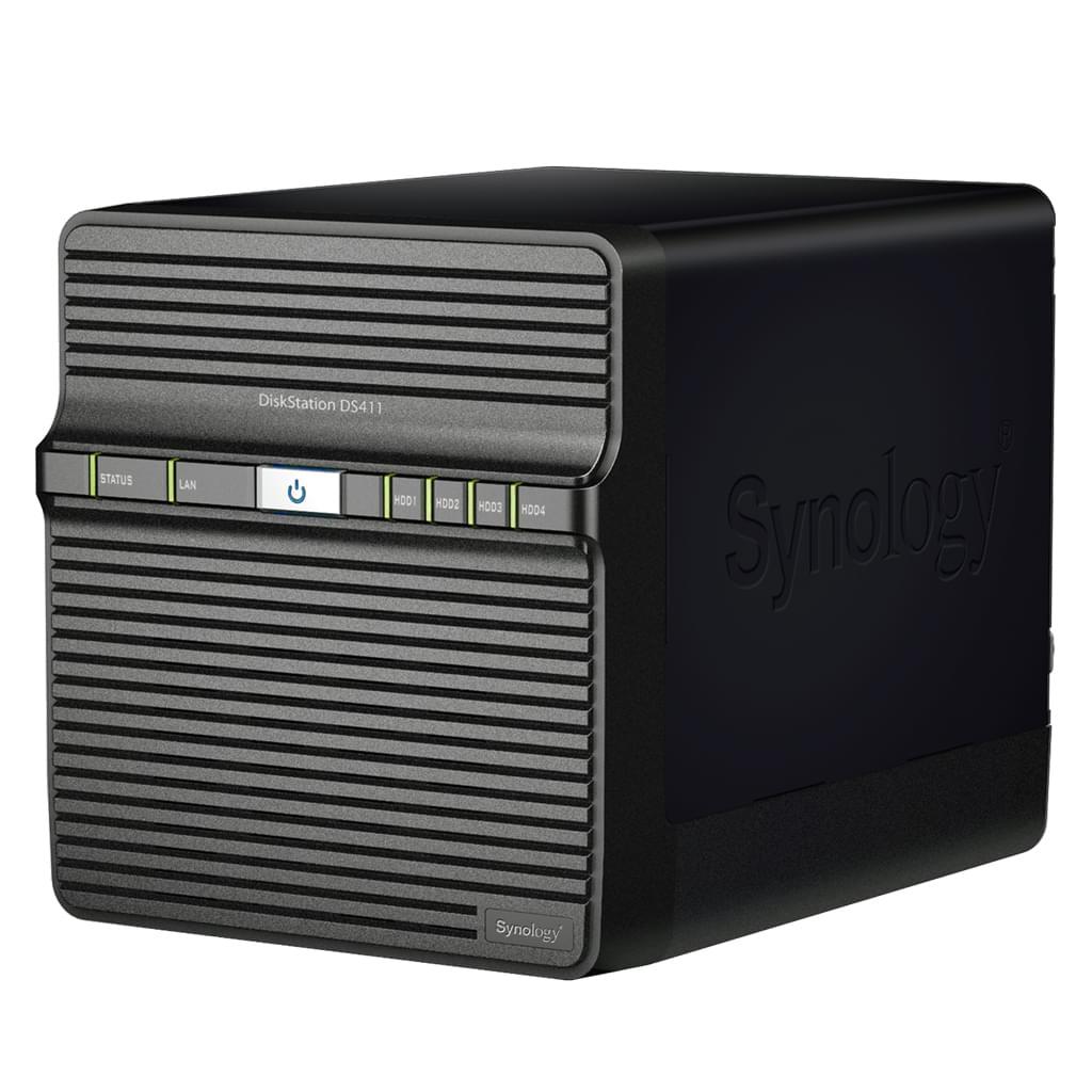 Synology NAS RJ45 (DS411) - Achat / Vente Boîtier externe sur Cybertek.fr - 0