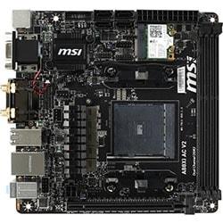 MSI Carte Mère A88XI AC V2 - A88X/SKFM2+/DDR3/mini ITX Cybertek
