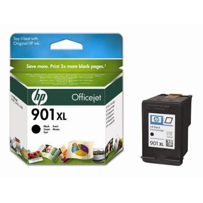Cartouche 901 XL Noir - CC654AE pour imprimante Jet d'encre HP - 0
