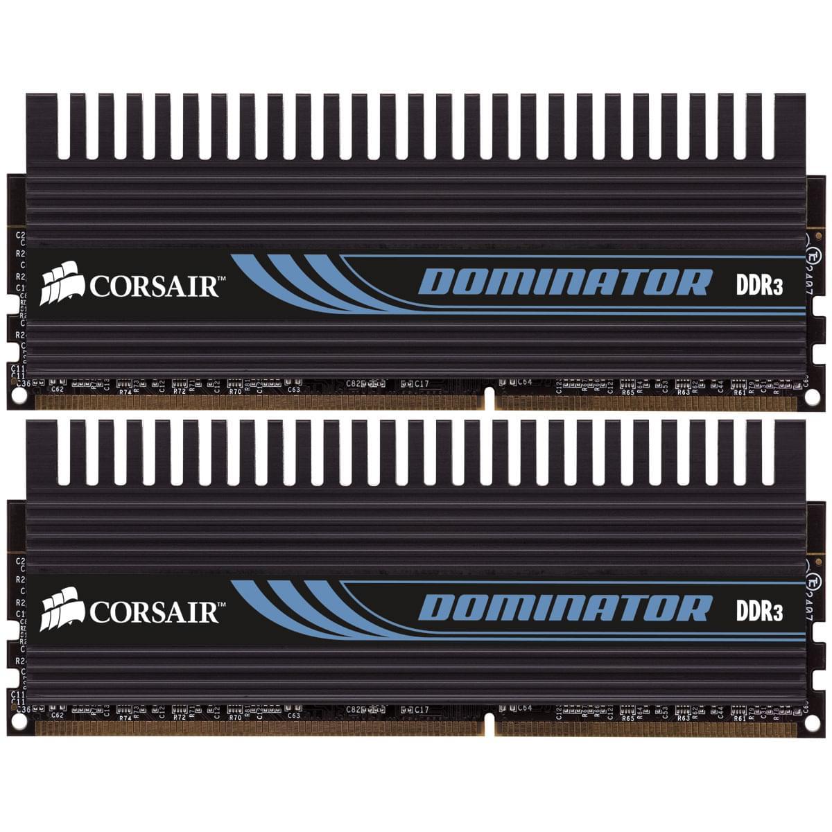 Corsair CMP8GX3M2A1600C9 (2x4Go DDR3 1600 PC12800) 8Go  1600MHz - Mémoire PC - 0