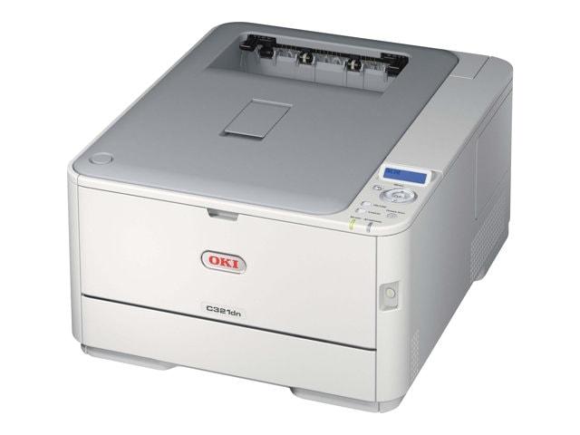 Oki C321dn (LED Couleur/Réseau/Recto-verso/PCL/PS3) (44951534) - Achat / Vente Imprimante sur Cybertek.fr - 0