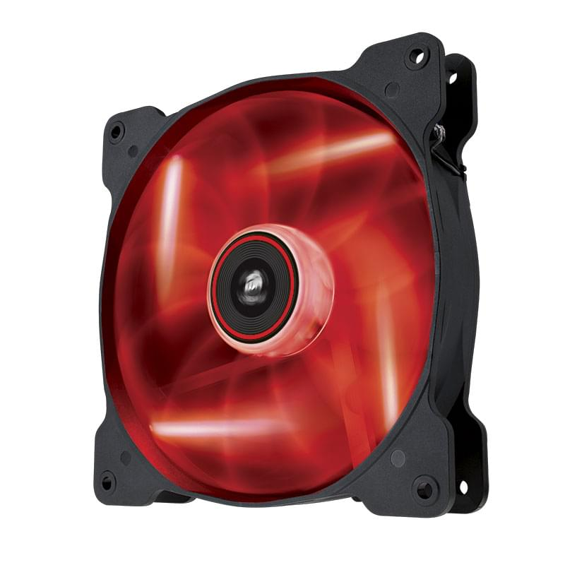 Corsair AF140-LED RED Single Pack (CO-9050017-RLED) - Achat / Vente Ventilateur boîtier sur Cybertek.fr - 0