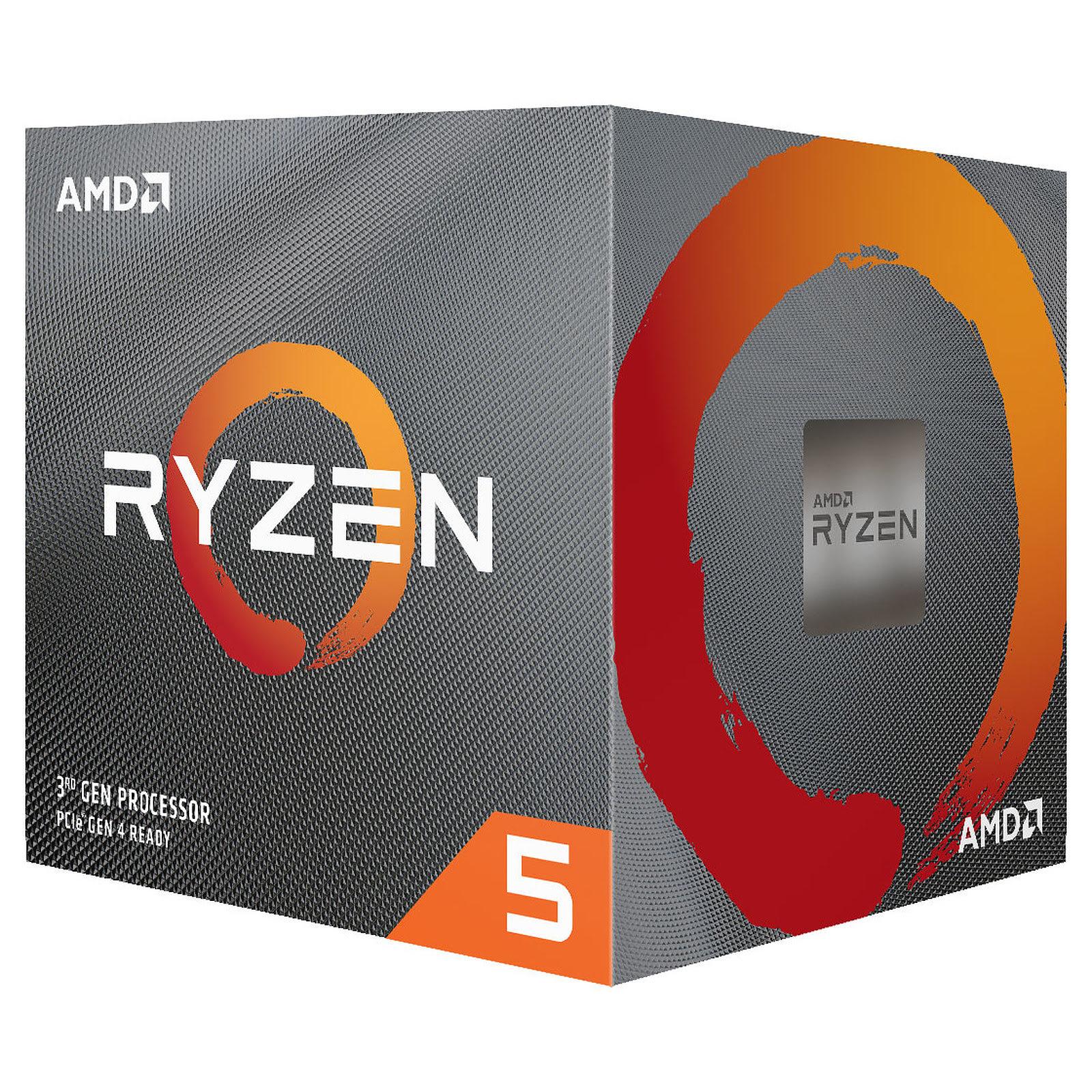 AMD Ryzen 5 3600X - 4.4GHz - Processeur AMD - Cybertek.fr - 0