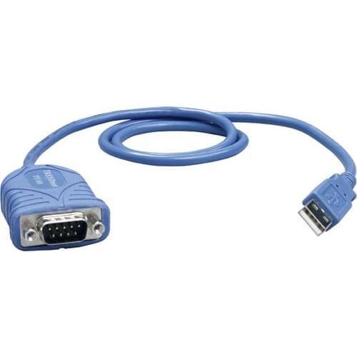 Câble TU-S9  DB9 mâle - USB - Connectique PC - Cybertek.fr - 0