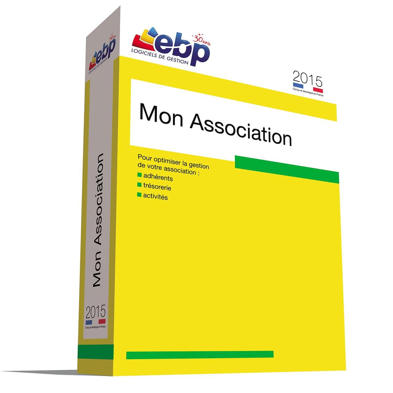 EBP Mon Association 2015 - Logiciel application - Cybertek.fr - 0