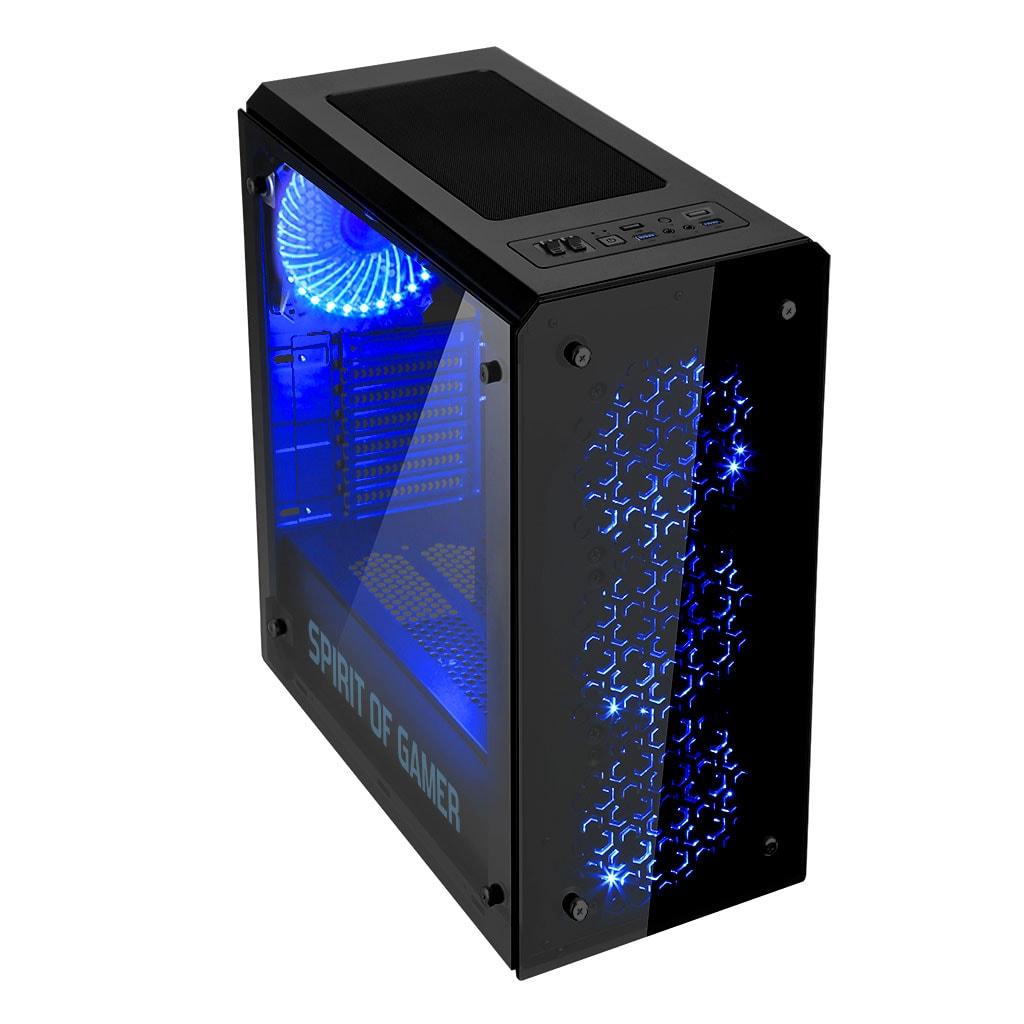 S.O.G ROGUE IV BLUE Noir - Boîtier PC S.O.G - Cybertek.fr - 4