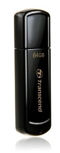 Transcend Clé 64Go USB 2.0 JetFlash 350 TS64GJF350  (TS64GJF350) - Achat / Vente Clé USB sur Cybertek.fr - 0