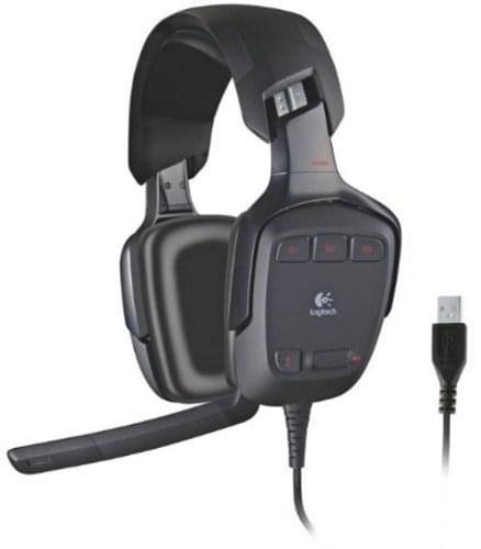 Logitech G G35 S Surround Sound Gaming Headset (981-000549 (FDV)) - Achat / Vente Micro-casque sur Cybertek.fr - 0