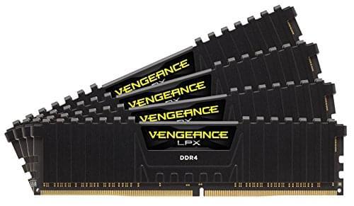 Corsair CMK32GX4M4A2800C16  32Go DDR4 2800MHz - Mémoire PC - 0