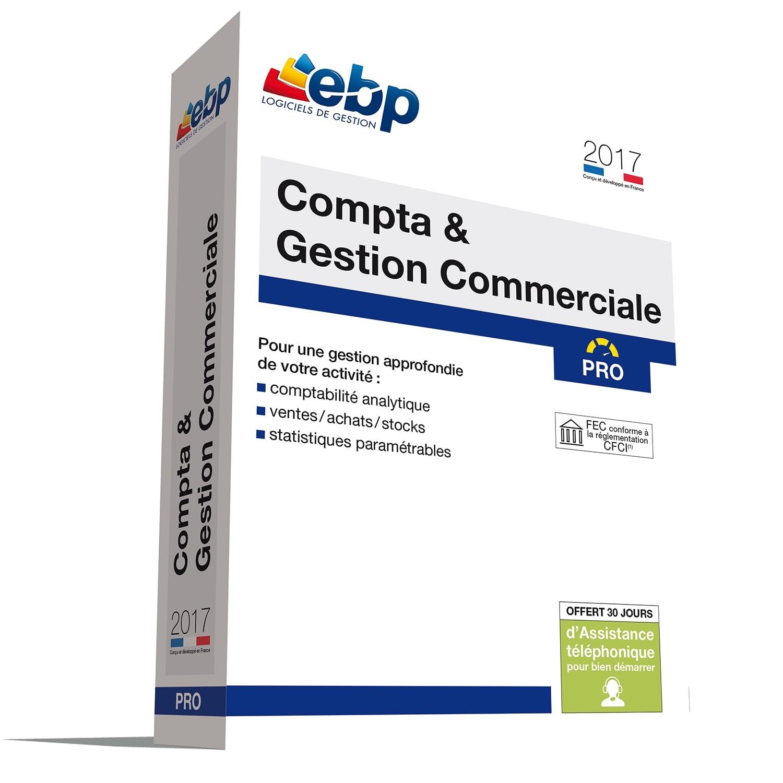 EBP Compta  & Gestion Commerciale PRO OL 2017 monoposte (1119P090FAO) - Achat / Vente Logiciel Application sur Cybertek.fr - 0