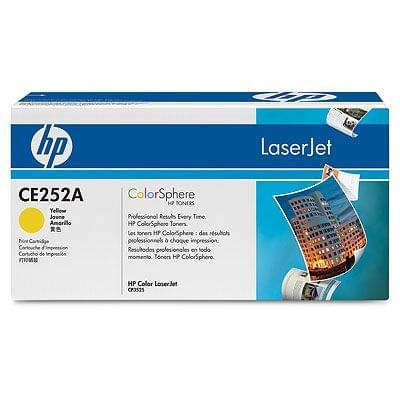 Toner Jaune 7000 p - CE252A pour imprimante  HP - 0