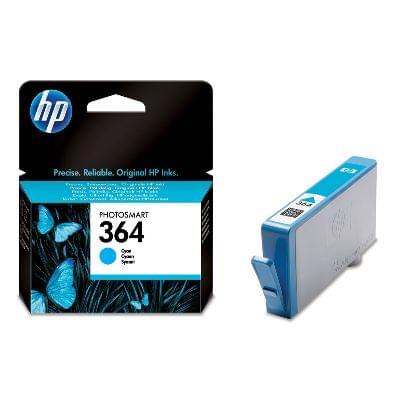 Cartouche Cyan HP364 - CB318EE pour imprimante Jet d'encre HP - 0