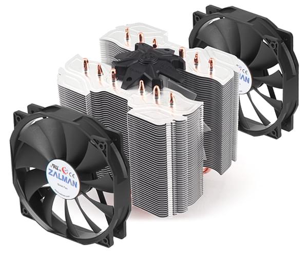 Zalman CNPS14X  SKFM1/AM3/AM2/1155/1156/775/2011 (CNPS14X) - Achat / Vente Ventilateur CPU sur Cybertek.fr - 0