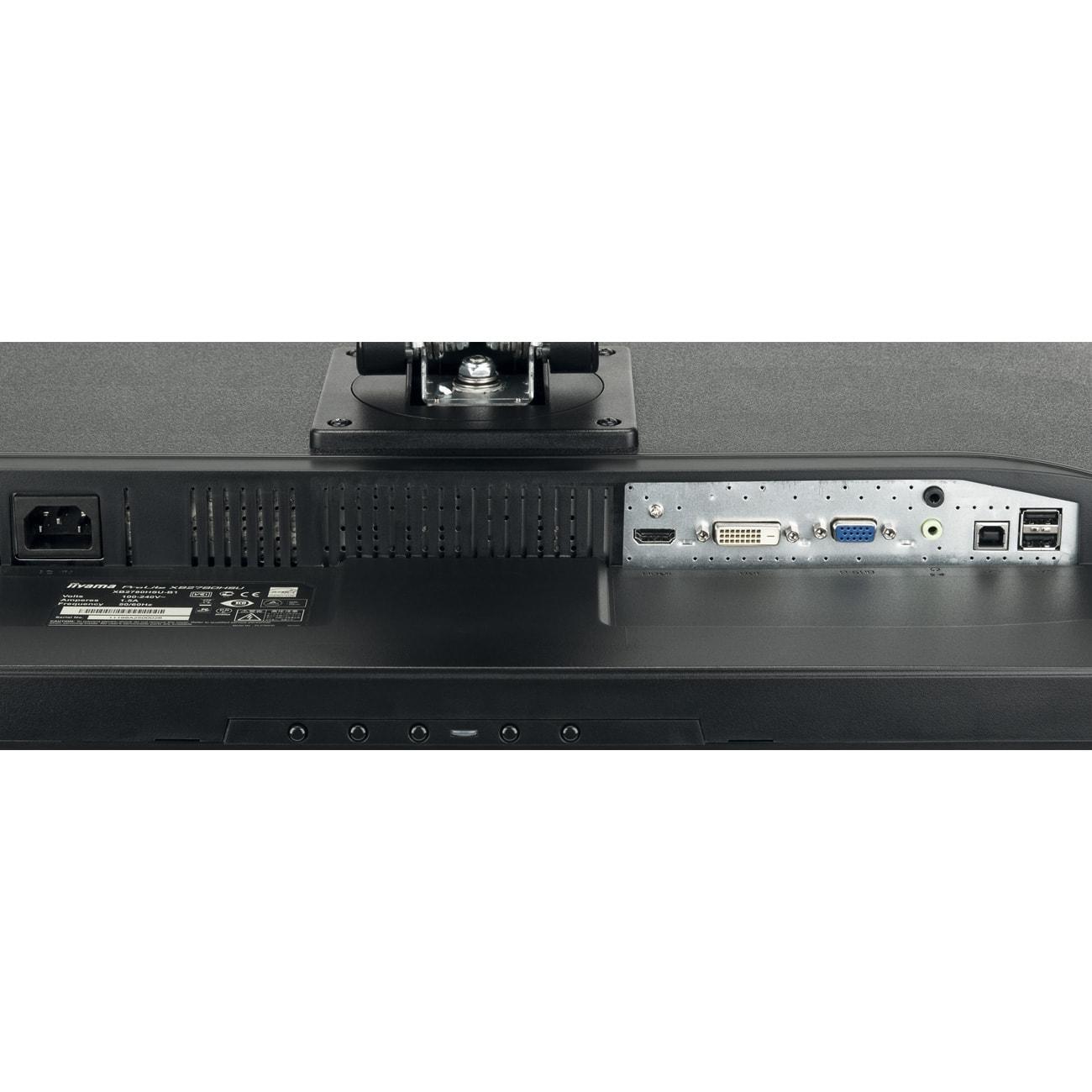 Iiyama B2780HSU-B1 (B2780HSU-B1) - Achat / Vente Ecran PC sur Cybertek.fr - 4