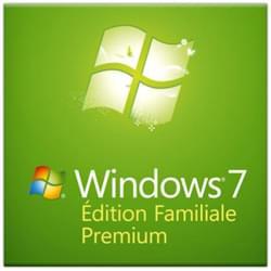 Microsoft Logiciel système exploitation Windows 7 Edition Familiale Premium 64b COEM Cybertek